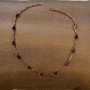 Jewelry - Rhodalite garnet necklace